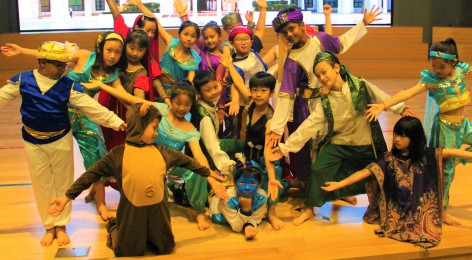 "The Show Must Go On!  Penguin Class Assembly Production of ""Aladdin"""