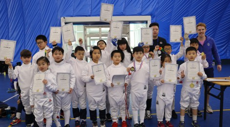 WASCZ Primary Fencing Competition