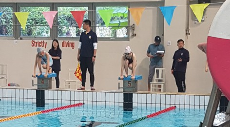 Swimming Competition in Shanghai