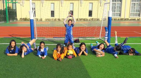 Football Girls so close to the semi-finals in Shanghai