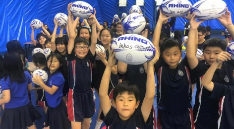 Rugby World Cup sparks the imagination in Primary!