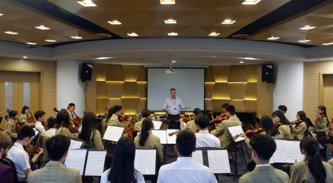 Eminent String Professors visit Wycombe Abbey Changzhou