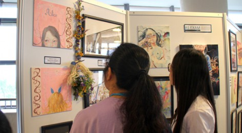 The Annual School art show was a great success